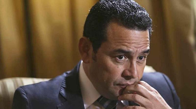 Jimmy Morales, antejuicio