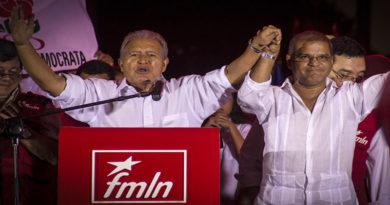captura de expresidente Salvador Sánchez Cerén
