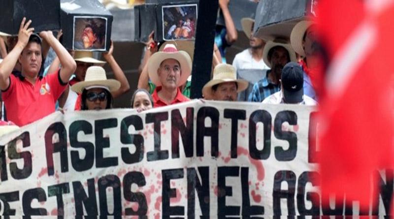 Coronel Hugo Coca revela estrategia para despojar a los campesinos de MARCA y MUCA de sus tierras en el Bajo Aguán