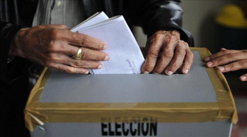 viciado proceso electoral