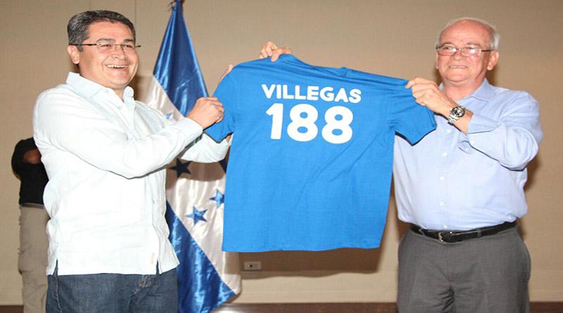 Jaime Villegas se suma oficialmente al Partido Nacional