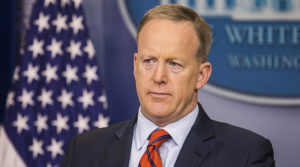 Sean Spicer, portavoz , Casa Blanca