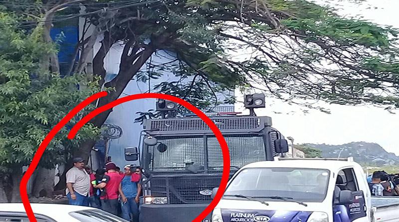 Estudiantes denuncian confabulación entre Policía Partido Nacional y autoridades de la UNAH