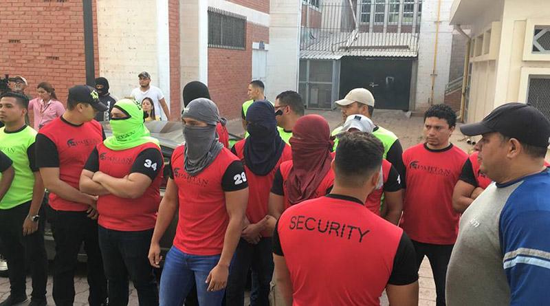 Autoridades de la UNAH  dicen que estudiantes estaban drogados y borrachos