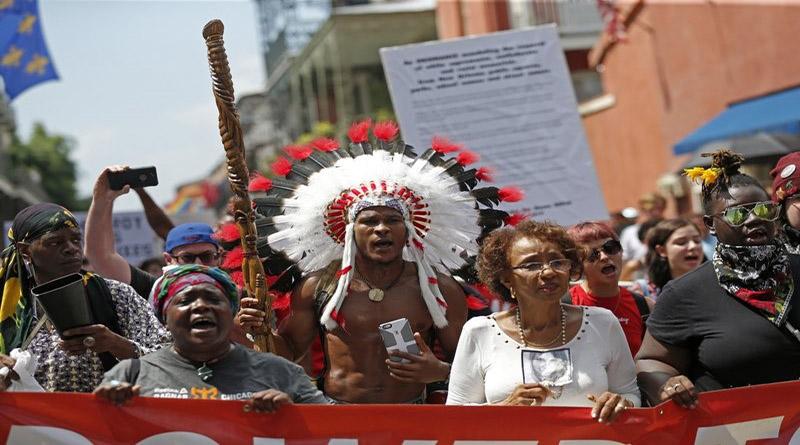 En Estados Unidos anuncian 10 días de marchas contra el racismo y la supremacía blanca