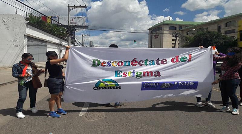 Con desfile bufo juventud hondureña exige  evitar estigmatización