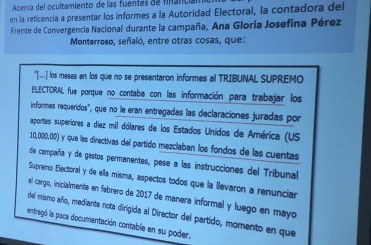 CICIG y Ministerio Público de Guatemala.