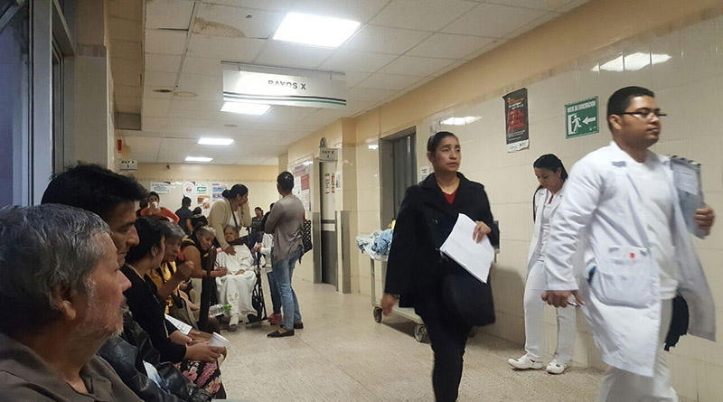 empleados de la salud
