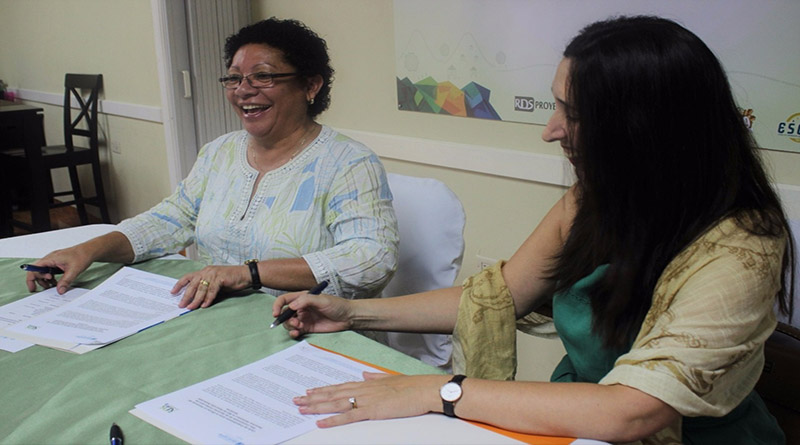 RDS y OACNUDH firman carta de entendimiento para protección de derechos humanos