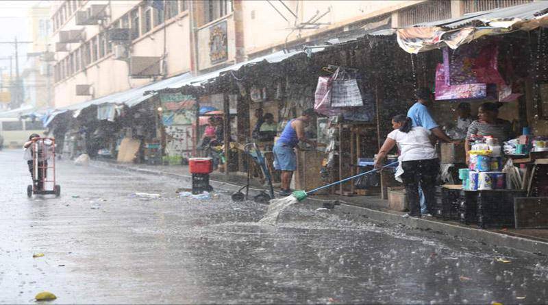Alerta verde y amarilla en 10 departamentos amenazados por las lluvias