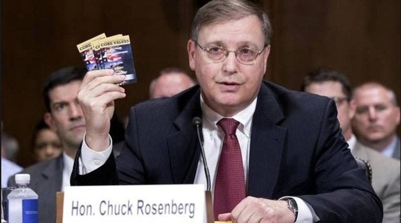 Renuncia jefe de la DEA