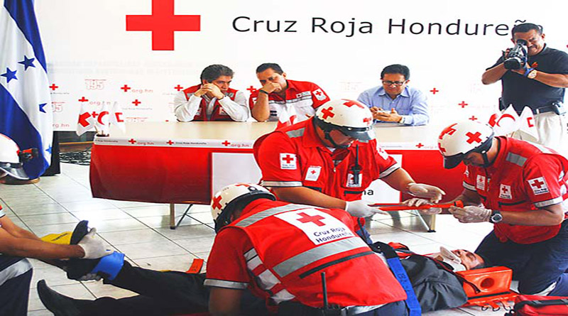 Cruz Roja cumple 80 años de servicio en Honduras (vídeo)