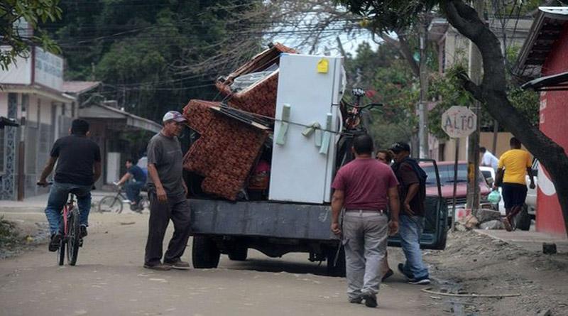 personas desplazadas por la violencia en Honduras