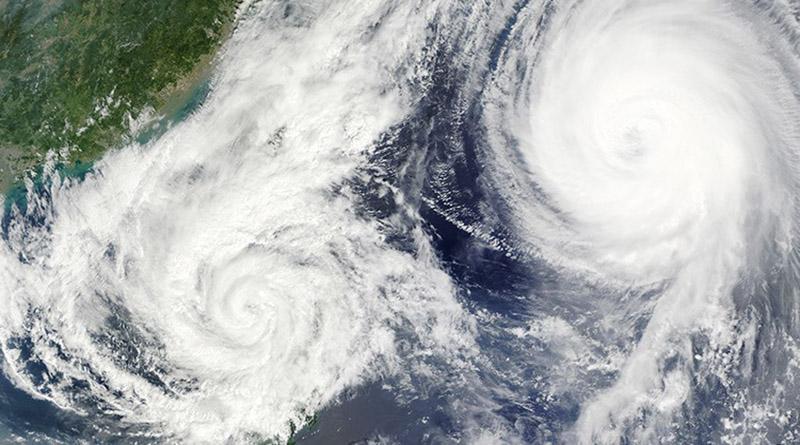 Conozca qué pasa cuando dos huracanes están demasiado cerca