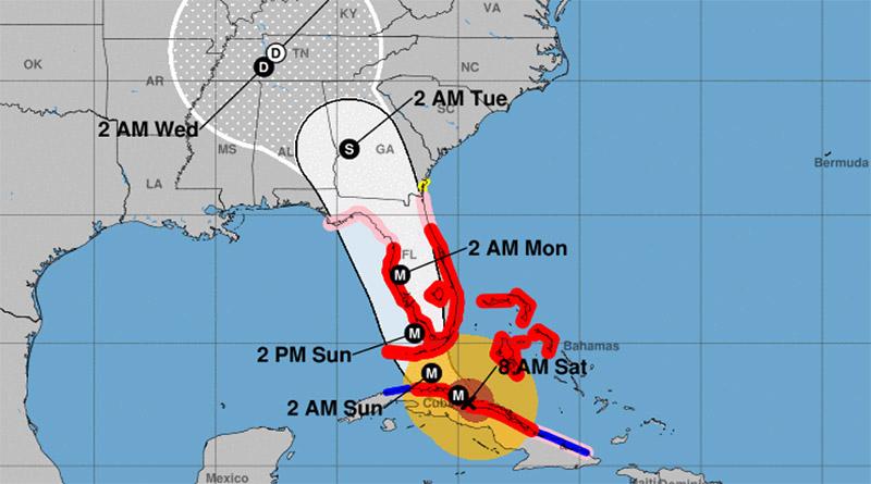 Huracán Irma toca tierra y avanza con fuerza hacia La Florida