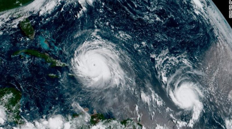 Huracán José sigue los pasos de Irma por el Atlántico rumbo a la costa este de loa EE.UU