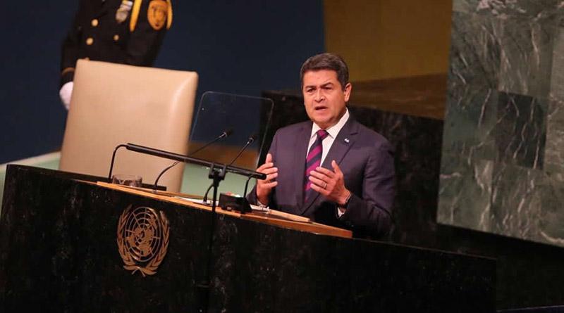 JOH pinta una Honduras más segura y menos corrupta