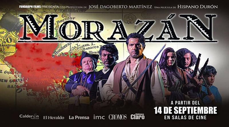 31 errores históricos, tiene la película Morazán