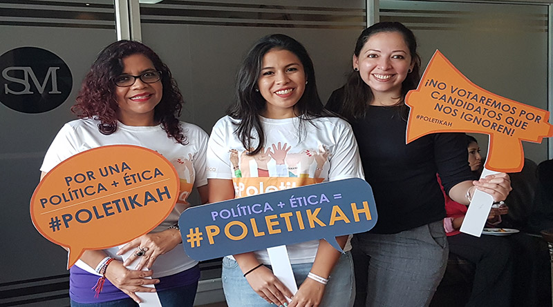 Lanzan plataforma para vigilar compromiso de presidenciables con los derechos de las mujeres