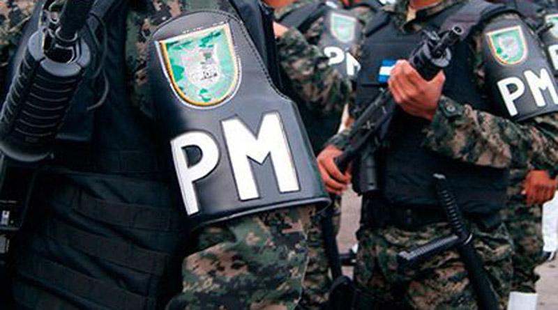 Enfrentamiento con policías militares