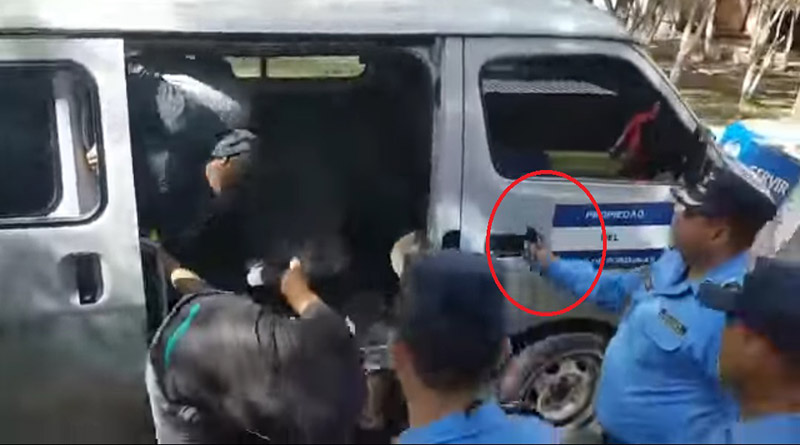 Expediente de policías que utilizaron gas pimienta para reprimir estudiantes será remitido al MP