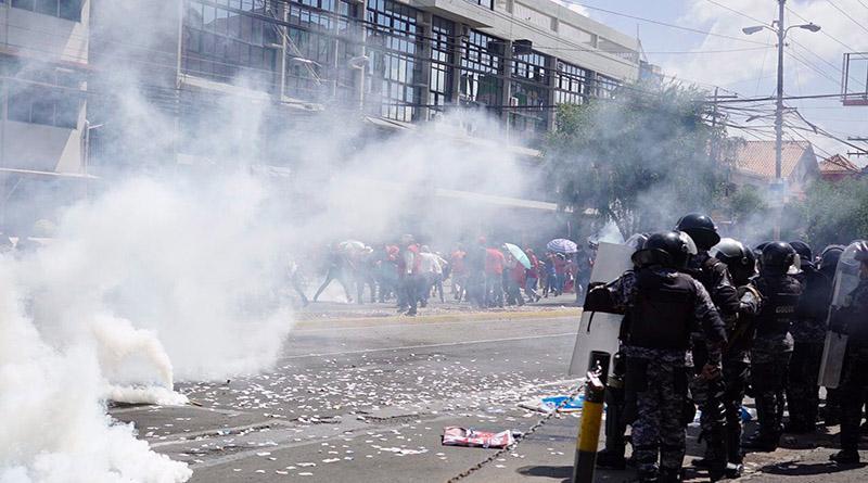 policías hondureños