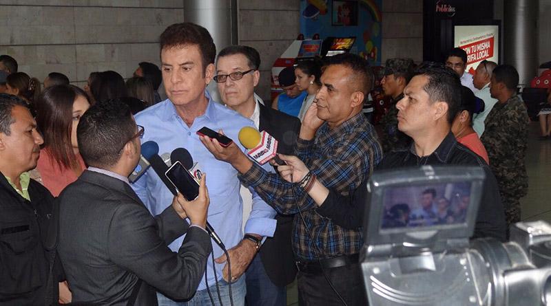"""Solo habrá diálogo si JOH acepta que yo gané"": Salvador Nasralla"