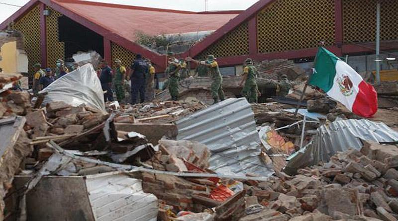 México tras sismo de 7,1