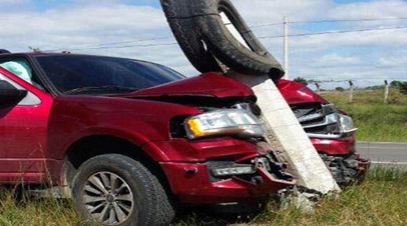 Candidata Presidencial del PAC sale ilesa de accidente tránsito