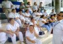 Enfermeras de Honduras en paro por falta de pago