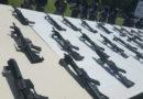 ¿Cuántos están presos por las armas, droga y dinero encontrados en los centros penales?