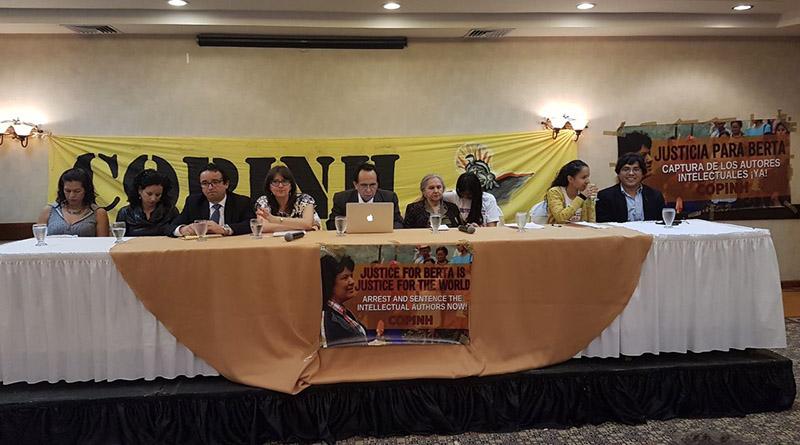 Informe de GAIPE evidencia el vínculo de funcionarios estatales con el crimen de Berta Cáceres