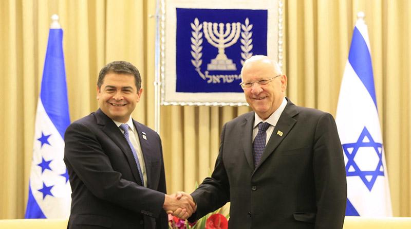 Israel busca penetrar en campos políticos y militares Hondureños