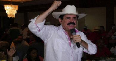 Expresidente Zelaya denuncia que supuestos sicarios le dan seguimiento