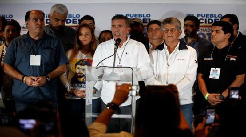 Oposición venezolana desconoce resultados de elecciones regionales