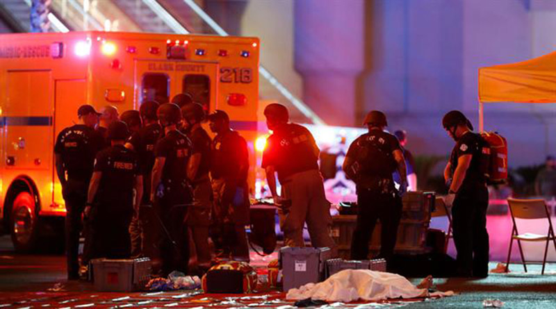 Ya son 58 los muertos y 500 heridos en el Tiroteo en Las Vegas, Nevada