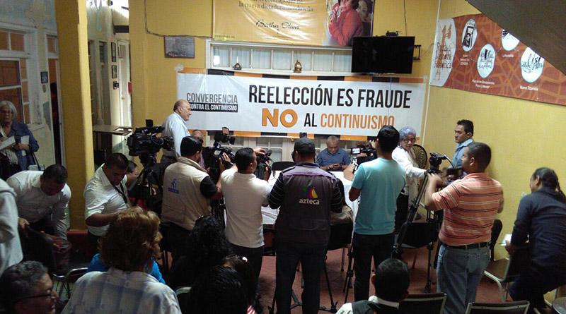 fraude con la reelección