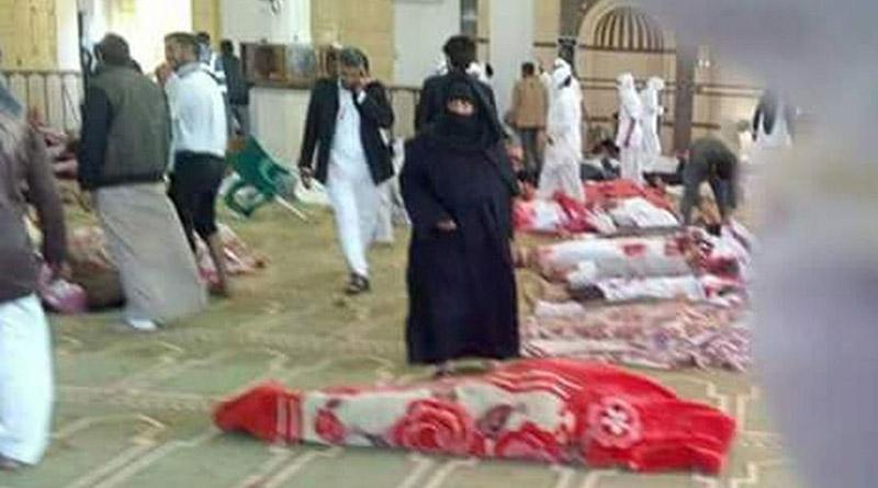 Egipto: Al menos 235 muertos deja atentado en mezquita en el Sinaí