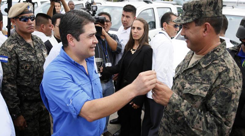 Los militares Honduras