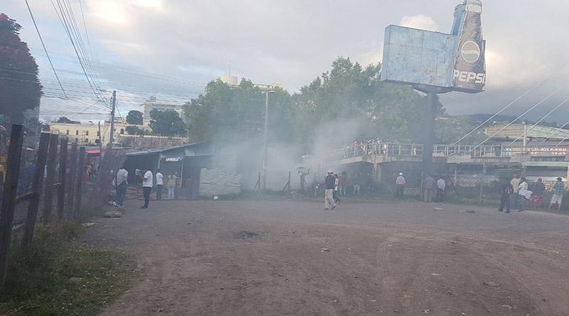 Incendio en Primera Avenida