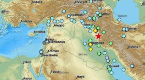 Sismo sacude Irán e Irak