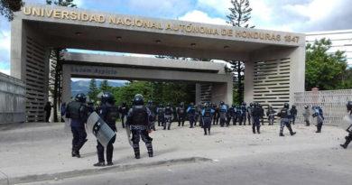 UNAH suspende clases y condena violación de su autonomía
