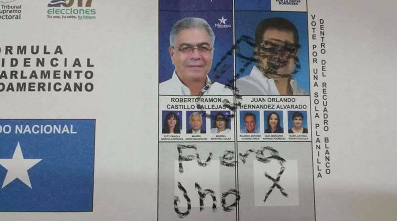 En Honduras los insultos son votos. !No les digo¡