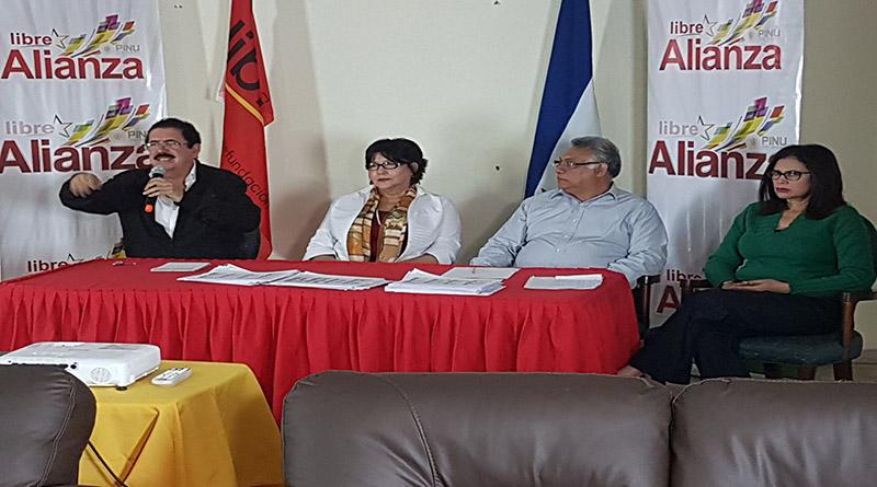Alianza de Oposición muestra mas pruebas del fraude electoral