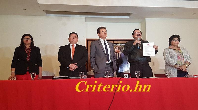 Alianza de Oposición de Honduras declara Non Grata a Misión de Observación de la Unión Europea