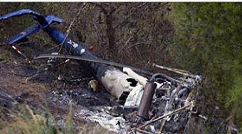 Fuerzas Armadas de Honduras lamenta muerte de tripulantes del helicóptero