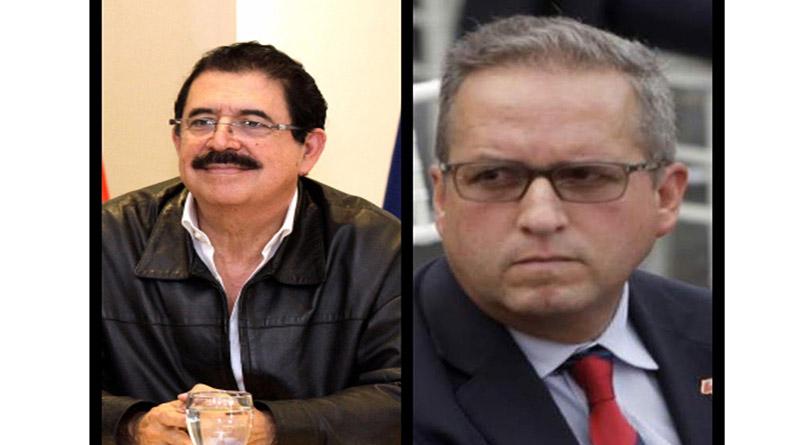 Mel Zelaya y Ricardo Álvarez