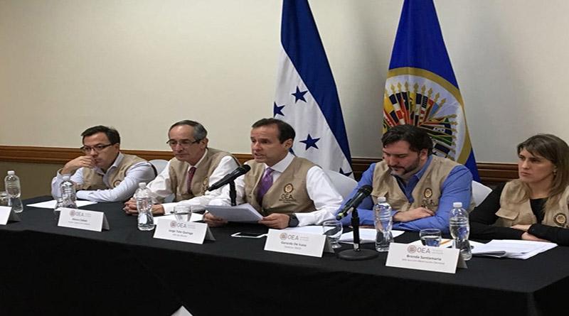 Resultados electorales en Honduras están llenos de dudas: OEA