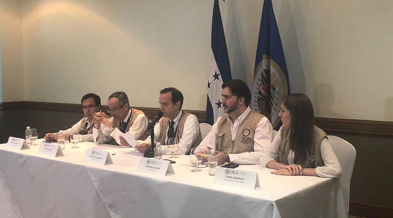 OEA señala a la Alianza de Oposición de atrasar escrutinio especial e insta a un acuerdo entre candidatos