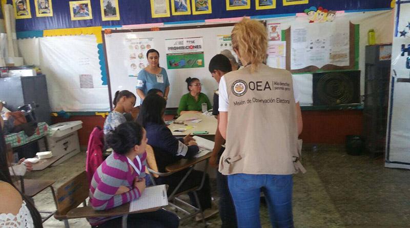OEA propone nuevas elecciones para garantizar la paz y la concordia en Honduras